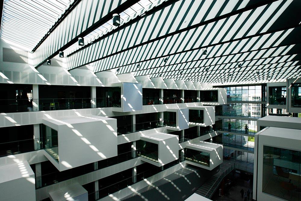 arkitektur, IT-universitet Genrebilleder. Erhvervsbilleder, erhvervsfoto, hjemmeside, markedsføring,